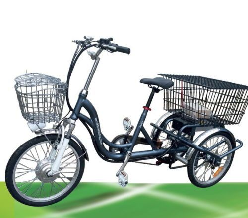 Elektro Dreirad Jorcy 15 6ah Lithium Elektrodreirad Neigetechnik 3 Gaenge 25km H Dreirad Elektro Ebay