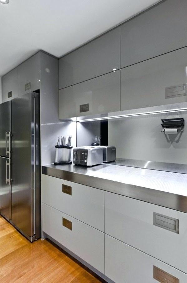 White Small Kitchen Ideas In 2020 Small Modern Kitchens