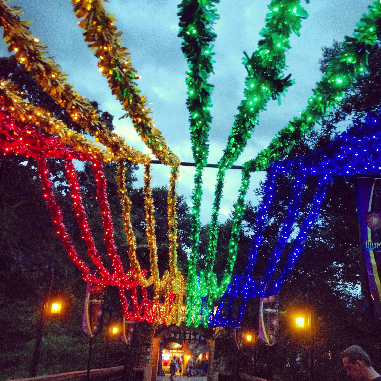 Follow the rainbow into the Ireland section of Busch Gardens, Williamsburg. #buschgardens #williamsburg