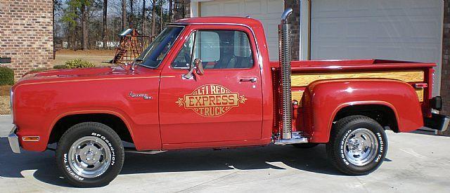 1978 dodge lil red express for sale classic pickups pinterest dodge dodge trucks and trucks. Black Bedroom Furniture Sets. Home Design Ideas