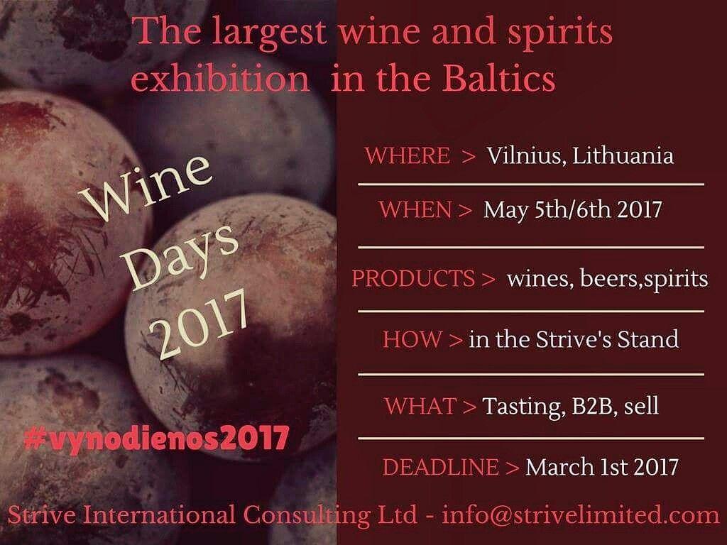 Wine Days 2017 in Vilnius...