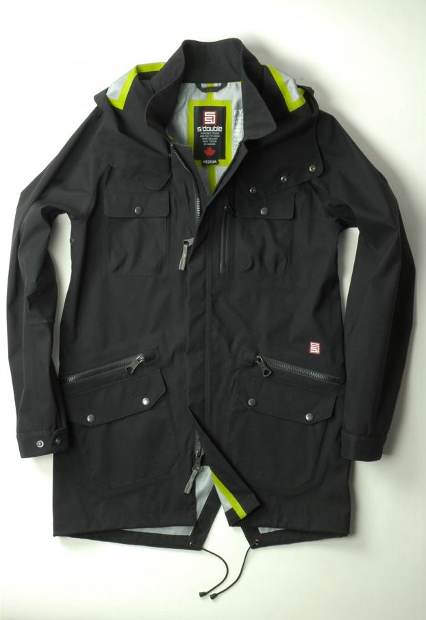 Prototype of a winter jacket by Shawn Stüssy (S/Double