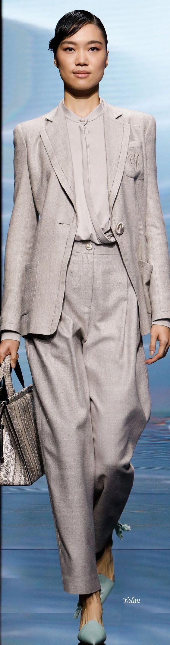 Emporio Armani 2021 Pantalones De Moda Giorgio Armani Moda