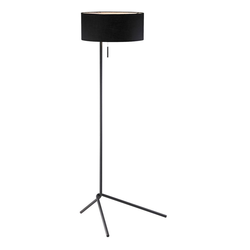 twixt slender black drumshade 1light floor lamp overstock shopping