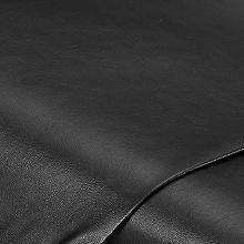 Tissu imitation cuir 'Tom', noir