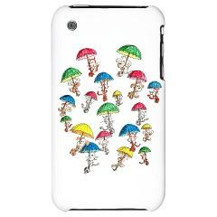 Raining Cats And Dogs Iphone 3g Hard Case  Accessories  Sam's Menagerie