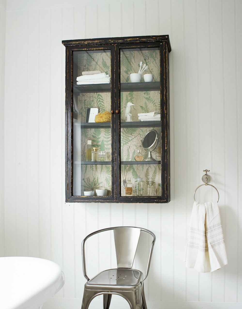 Glass Fronted Wall Cabinet From Graham And Green