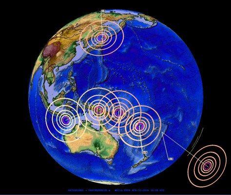 4/22/2016 — Earthquake Progression 101 — How pressure transfers across plates + Earthquakes are Related (With images)   Earthquake. Earthquake ...