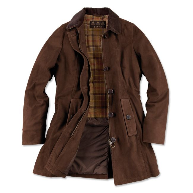 Just found this Lined Leather Jacket for Women - Barbour%26%23174%3b Kirby Coat -- Orvis on Orvis.com!