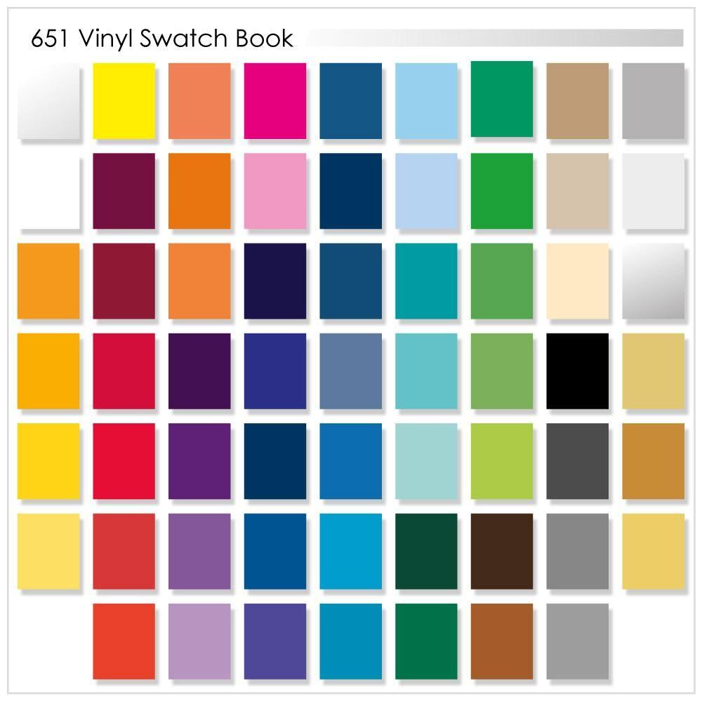 Oracal 651 Swatch Book Patterned Vinyl Oracal Vinyl