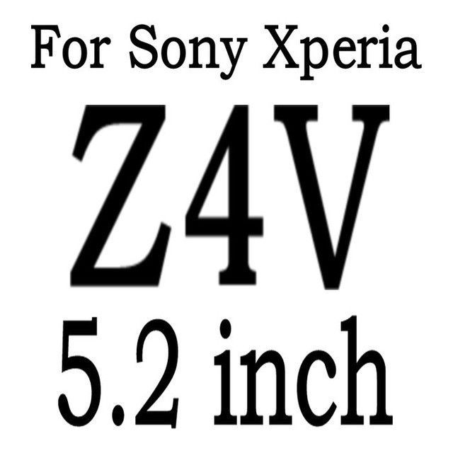 9H Tempered Glass Screen Protector guard BAG for Sony