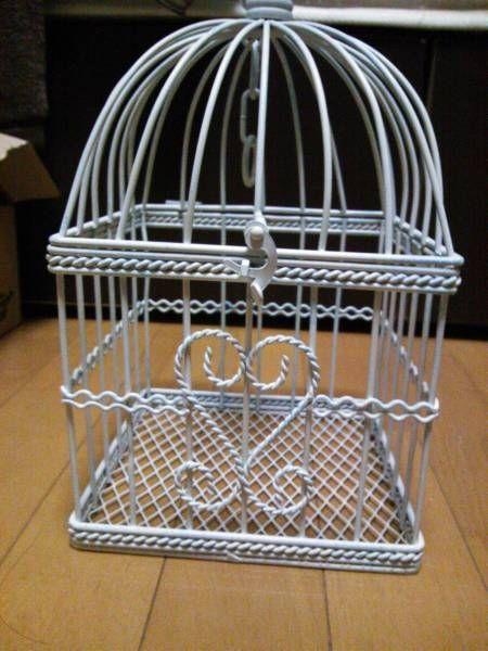 かわいい 鳥かご お部屋のインテリアに アンティーク 雑貨 家具 Antique pannier basket ¥1200yen 〆04月30日