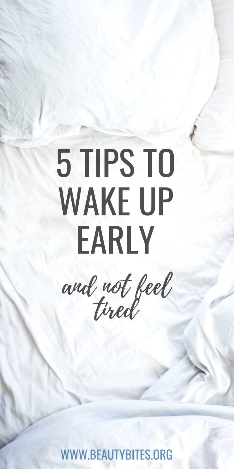 How To Wake Up Early: 5 Tips That Actually Work
