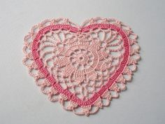 Sweet Heart for your SWEETHEART by BarbaraCrochetStudio, via Flickr