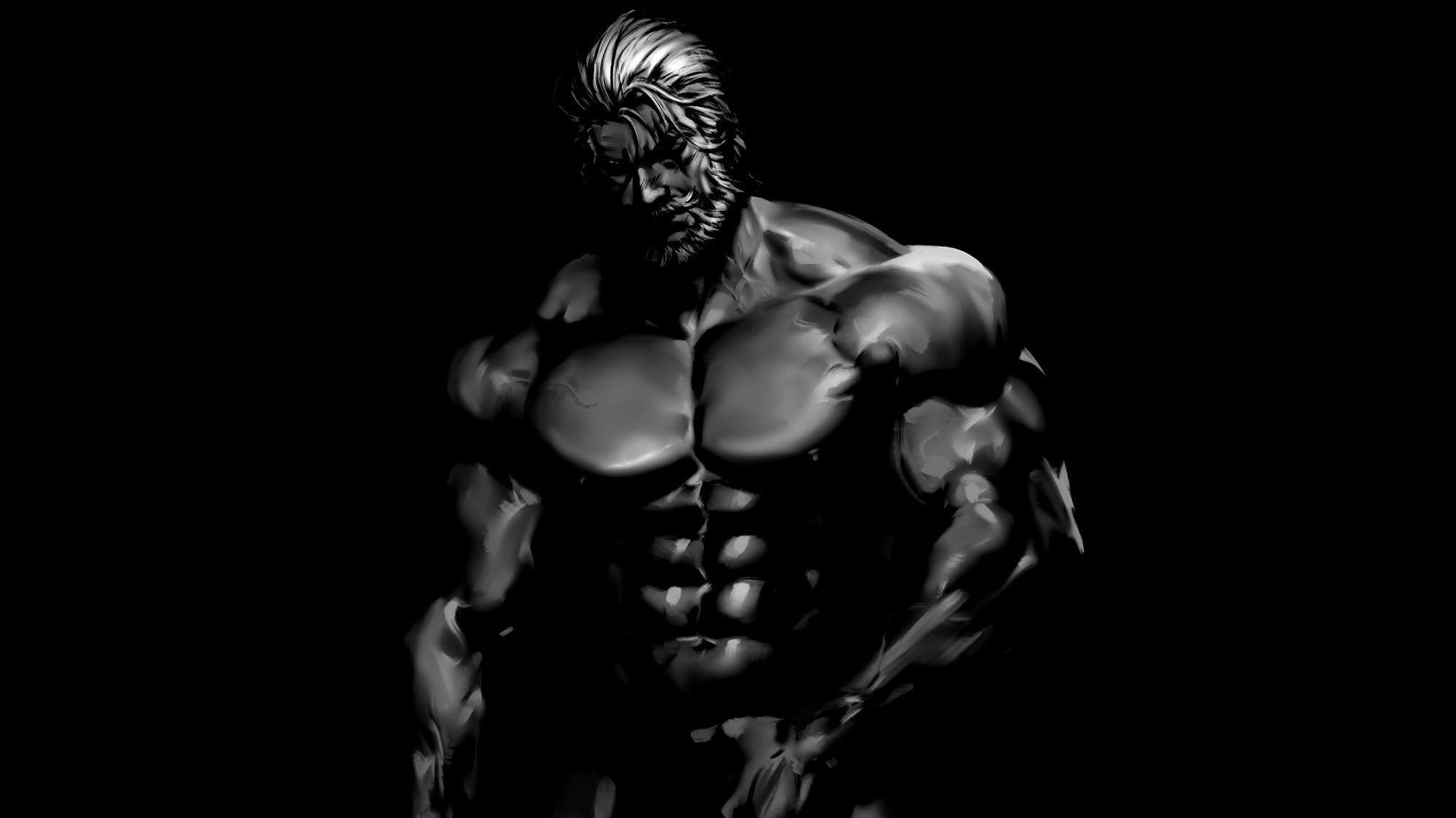 Wallpaper bodybuilder