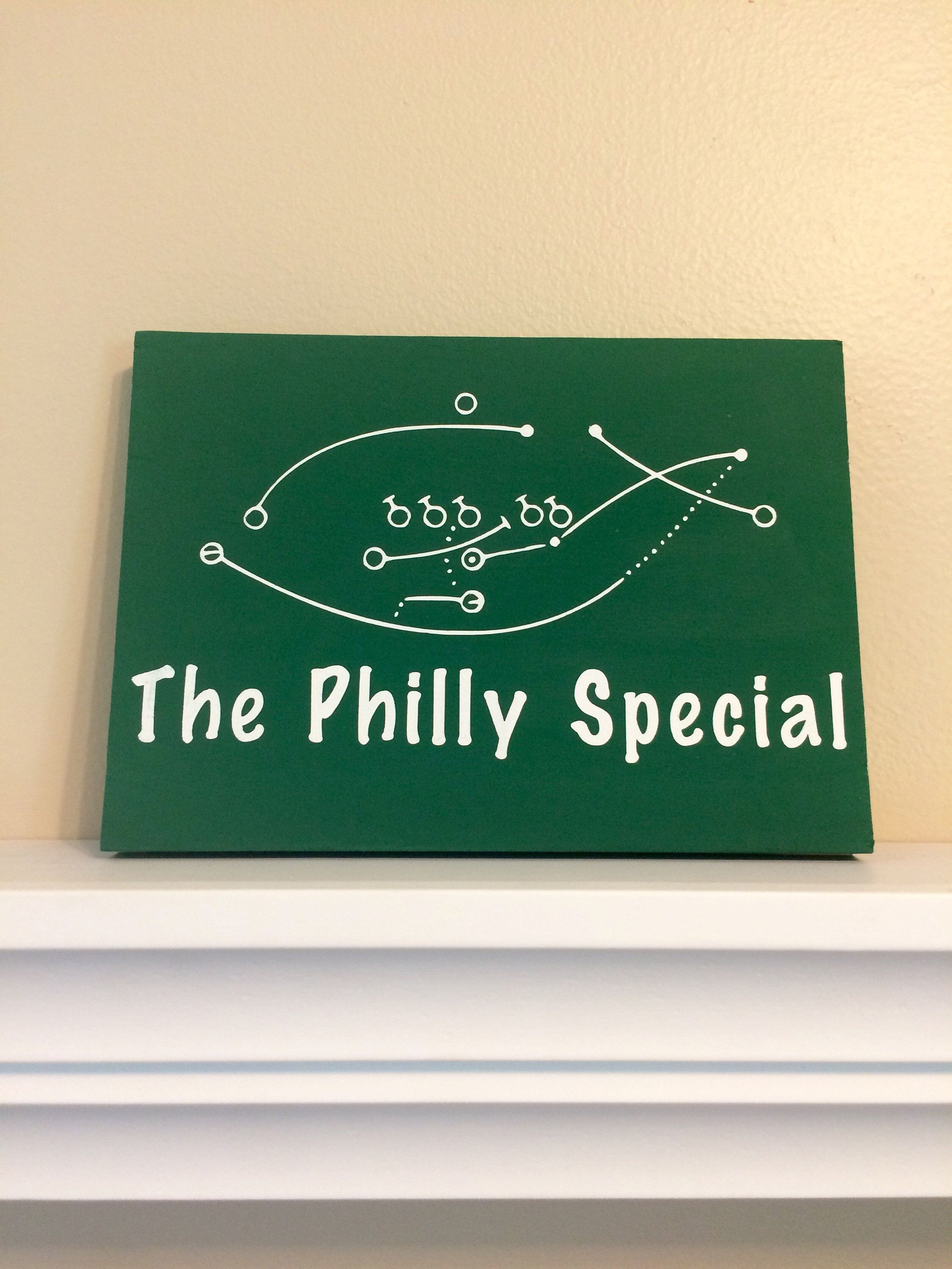 The Philly Special Rustic Wood Sign Without Frame Etsy Philadelphia Eagles Super Bowl Philadelphia Eagles Eagles Super Bowl