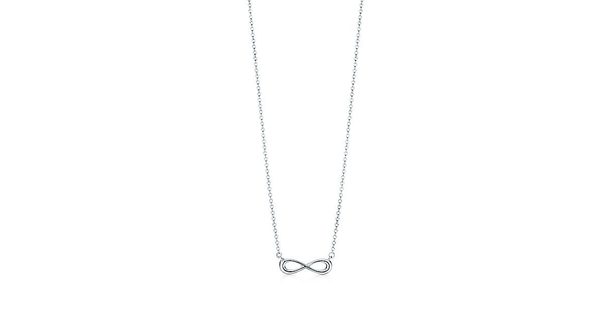 283914476cfb Tiffany Infinity pendant in sterling silver