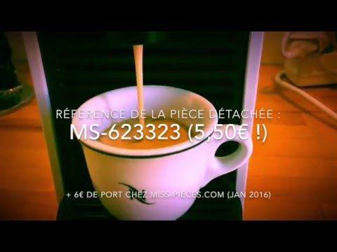 Cafetière - Nespresso u : le café coule dans l'emplacement d'ejection - CommentReparer.com - Apprenez à tout réparer