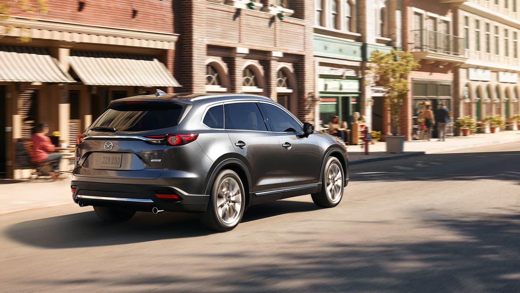 2016 Mazda CX 9 Rear Wallpaper