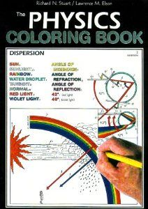 The Physics Coloring Book Harpercollins Coloring Books Not Childrens Coloring Concepts Inc 9780062737199 Amazon Co Coloring Books Physics Books Physics