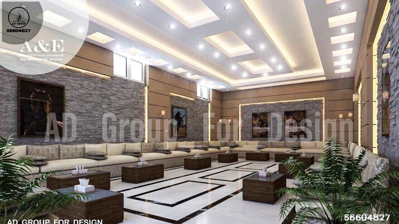 مجلس رجال الكويت Modern Majlis Interior Design Design Interior