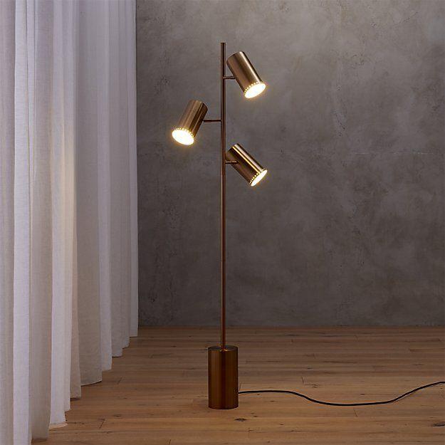 Shop trio floor lamp reading light ambient light or spotlight multitasking illuminator by jannis ellenberger does it all