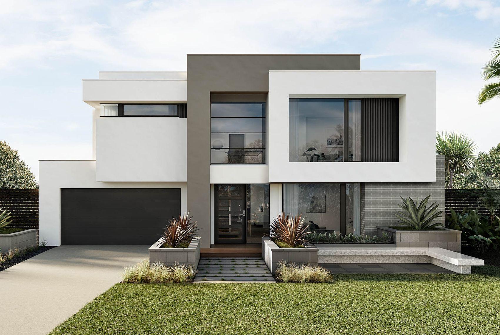 Provence 53 Benson Facade Facade House Modern House Design Modern House Facades