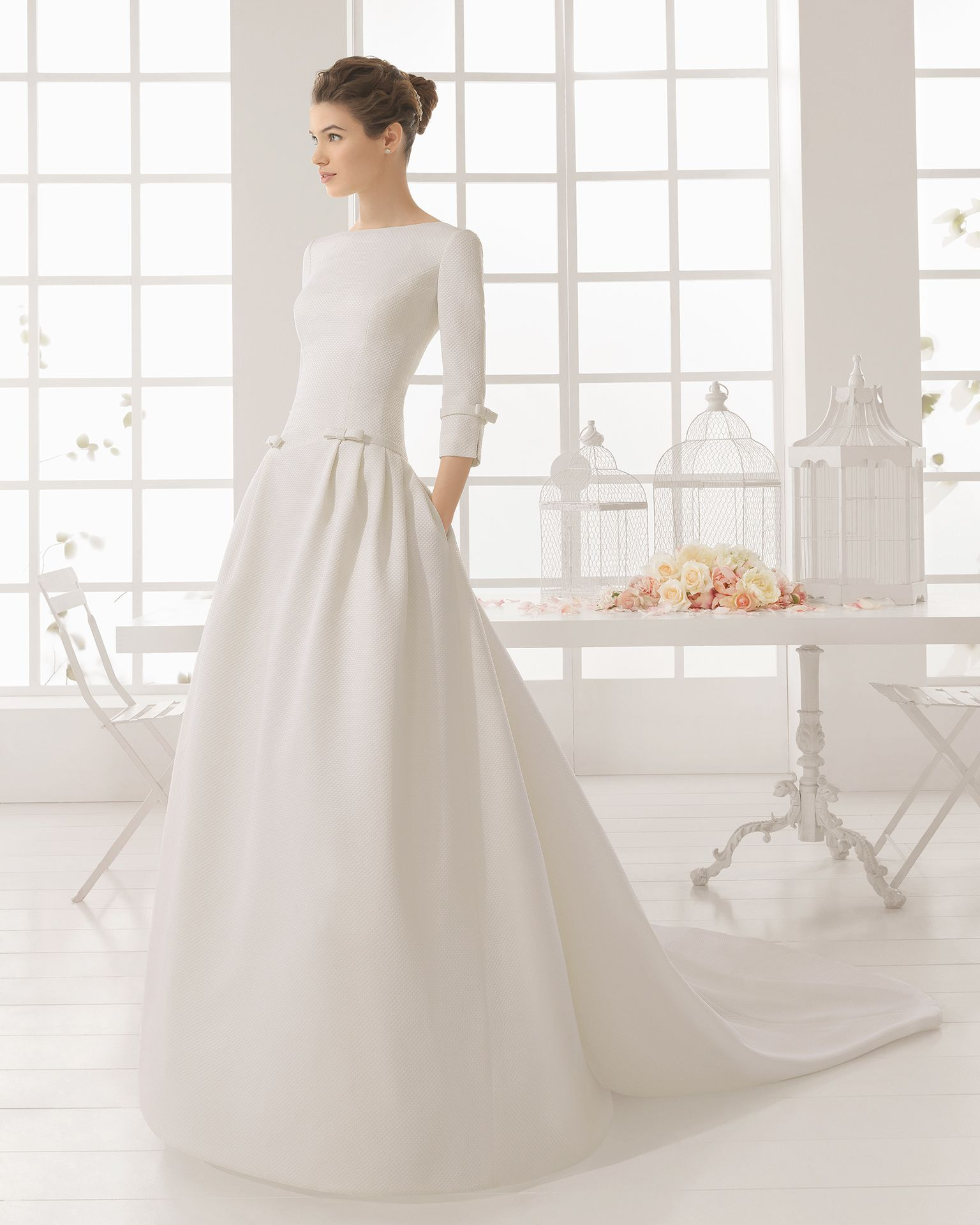 Minimalistische Hochzeitskleider 2016: Einfach und schick in\'s neue ...