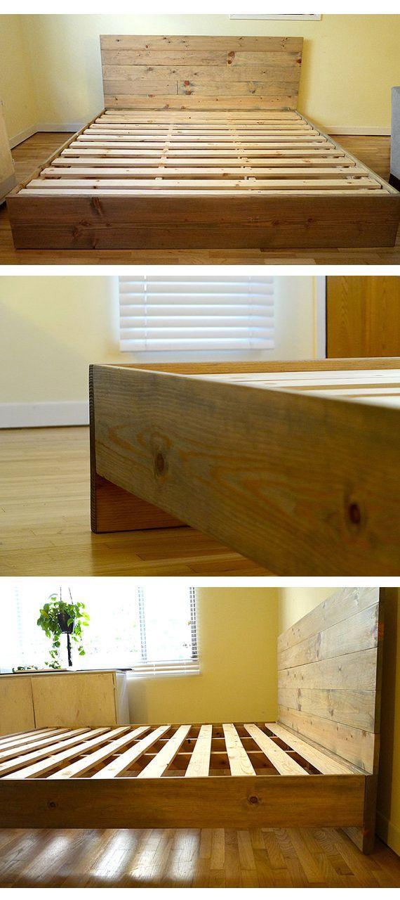 12+ Incredible Wood Working Homemade Ideas Diy bed