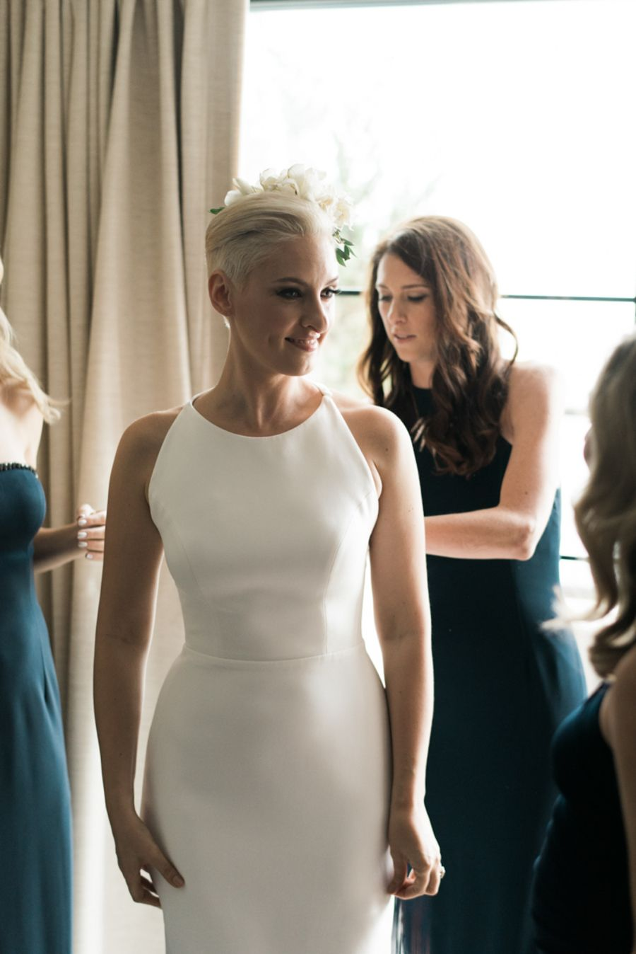 See The Designer Behind Lulu Frost Get Married Win 500 To Shop Her Line Wedding Dresses Wedding Lulu Frost