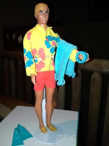 "Malibu Ken ""Surf's Up"" Sears exclusive gift set, 1971"