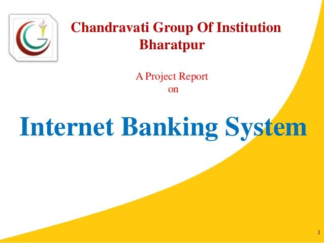 Java Project Report Online Banking System  Monish