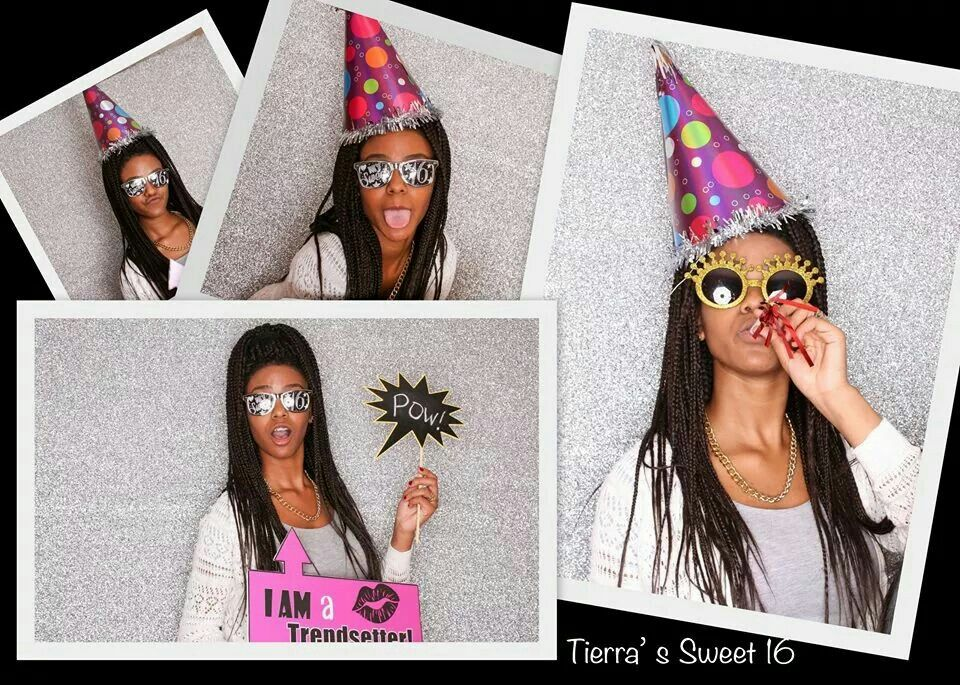 Hotel Slumber Party Sweet 16th Photo Booth Ideas