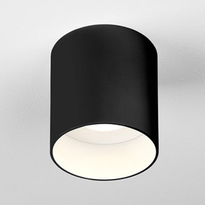 Astro 7997 Osca Round Led Surface Mounted Downlight In Black Downlights Exterior Lighting Design Ceiling Lights
