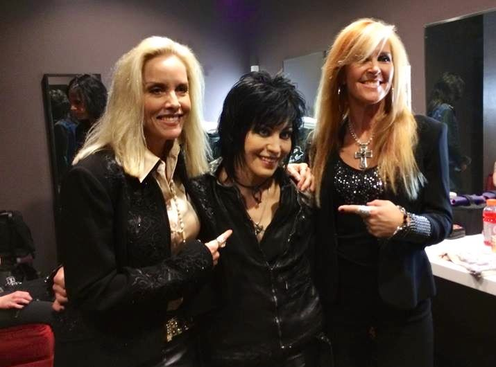 My dad took this a few weeks ago. Joan Jett, Cherie Currie, and Lita Ford