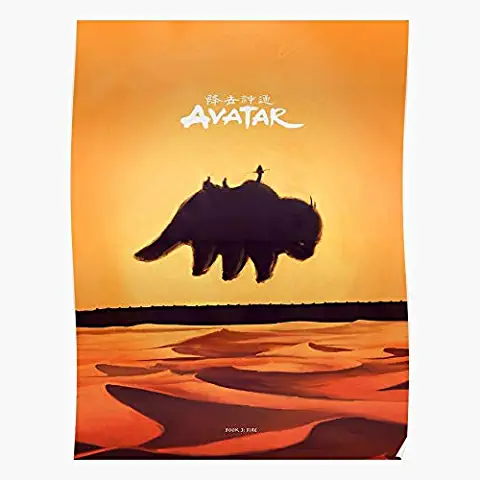 Amazon Com Avatar The Last Airbender Poster In 2020 Poster Prints Avatar Poster Posters Art Prints