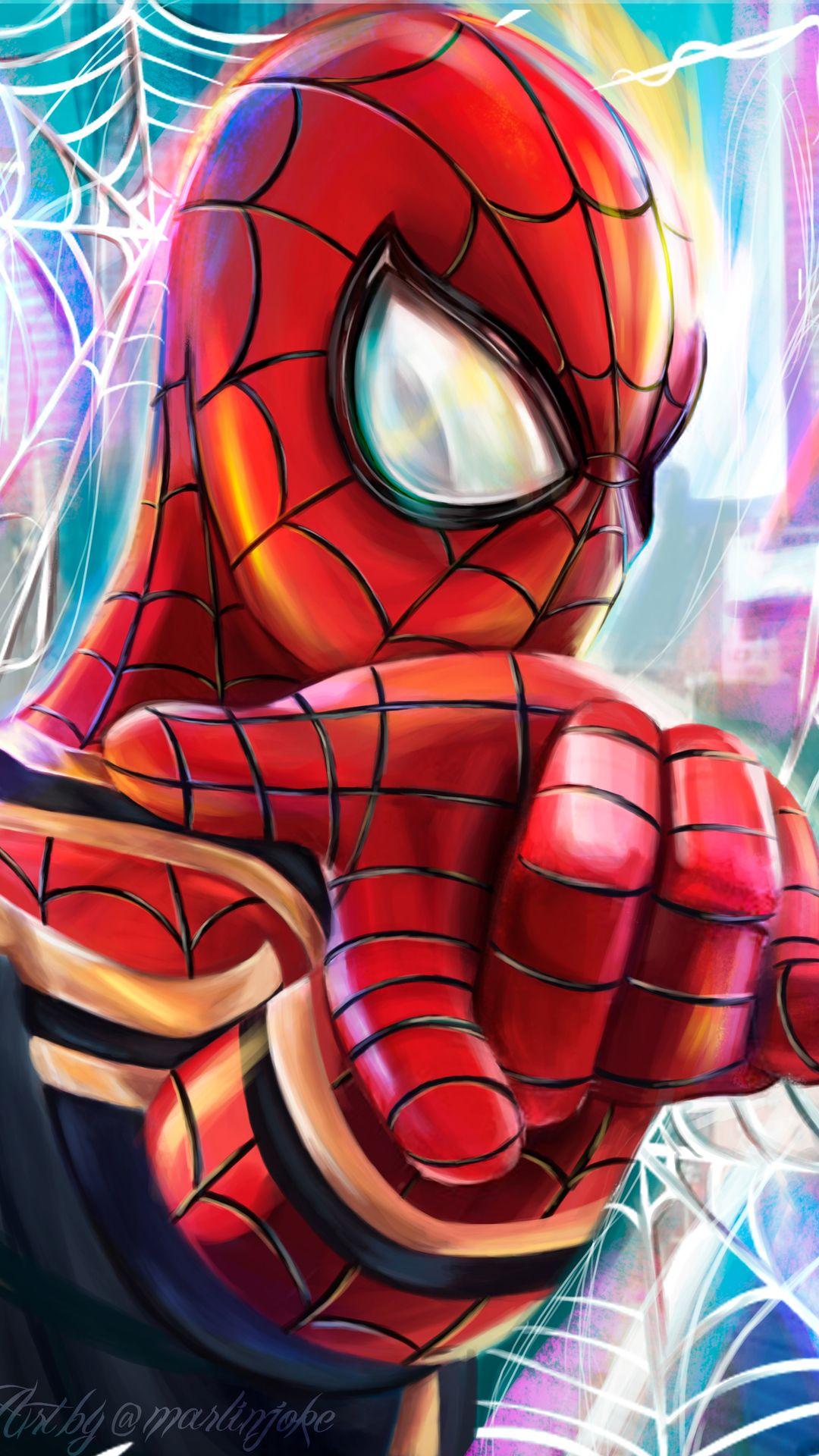 Spiderman 4k Paint Art Marvel Spiderman Art Spiderman Artwork Spiderman Drawing