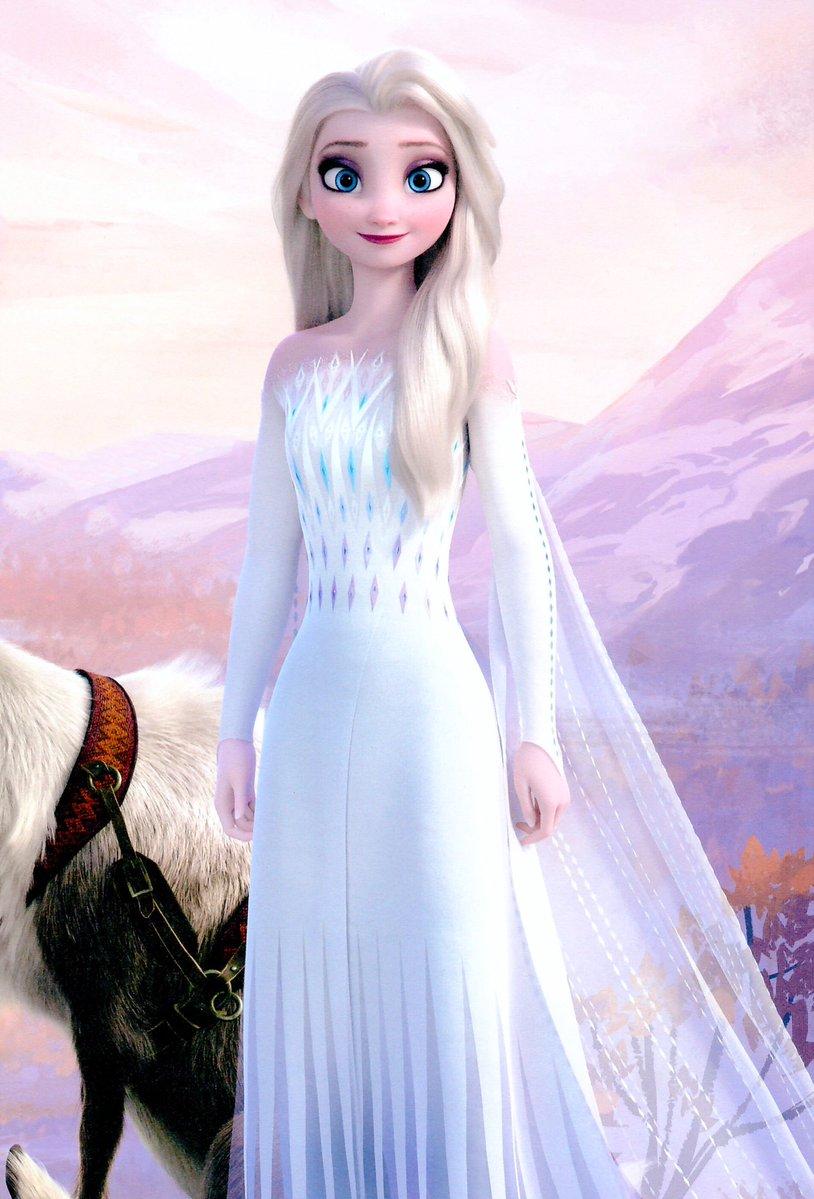 Frozen 2 Elsa In Her White Dress In 2020 Disney Princess Elsa Disney Frozen Elsa Frozen Disney Movie