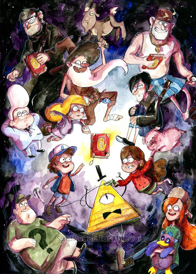 Waddles Gravity Falls Wallpaper Gravity Falls фэндомы Gf Арт Gf Art Old Man Mcgucket Gf