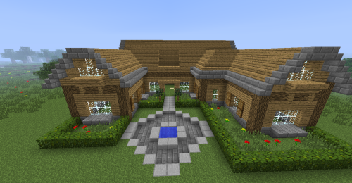 minecraft outside house decorations - Google Search ...
