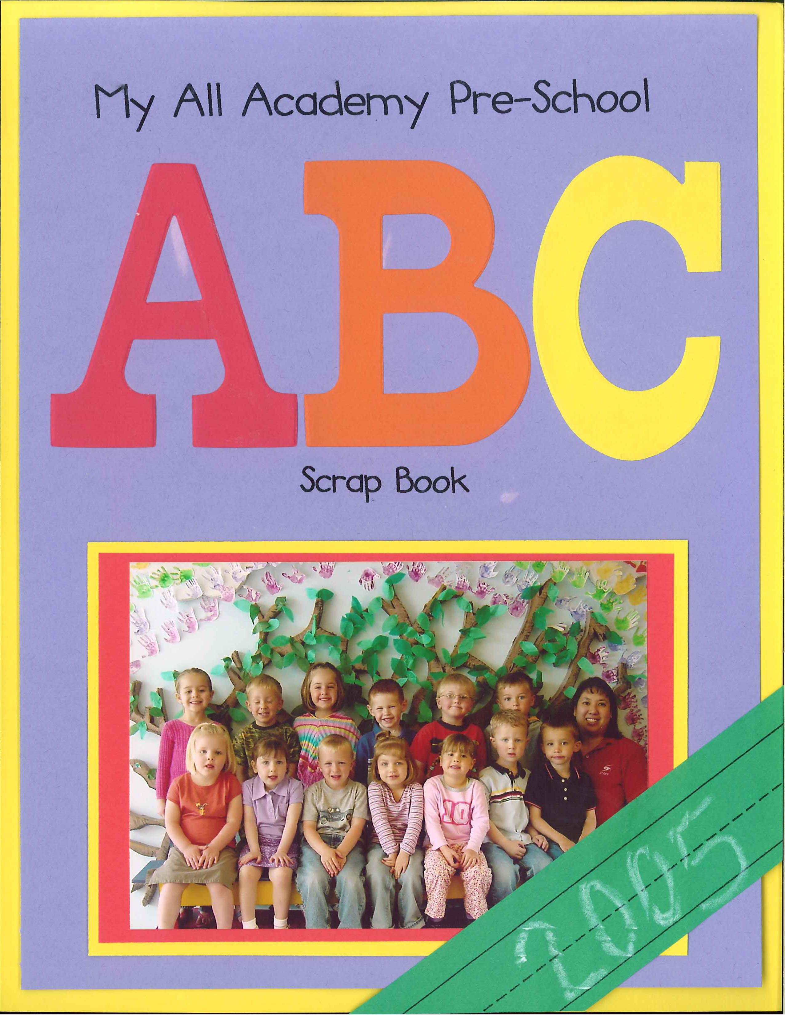 Kindergarten Book Cover Ideas ~ Pics for gt scrapbook ideas preschool