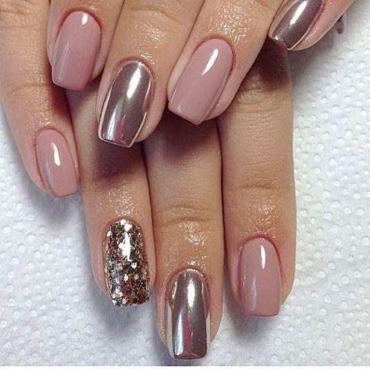 Christmas acrylic nails; Winter coffin nails; Acrylic nails fall; Medium / long