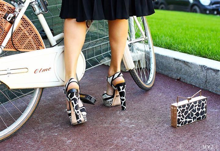 Zapato y accesorio