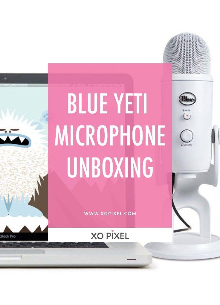 Blue yeti microphone unboxing yeti microphone blue yeti