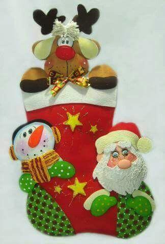 en foamy para todo tipo de ocasin en bejuma with adornos navideos de goma eva - Adornos Navideos De Goma Eva