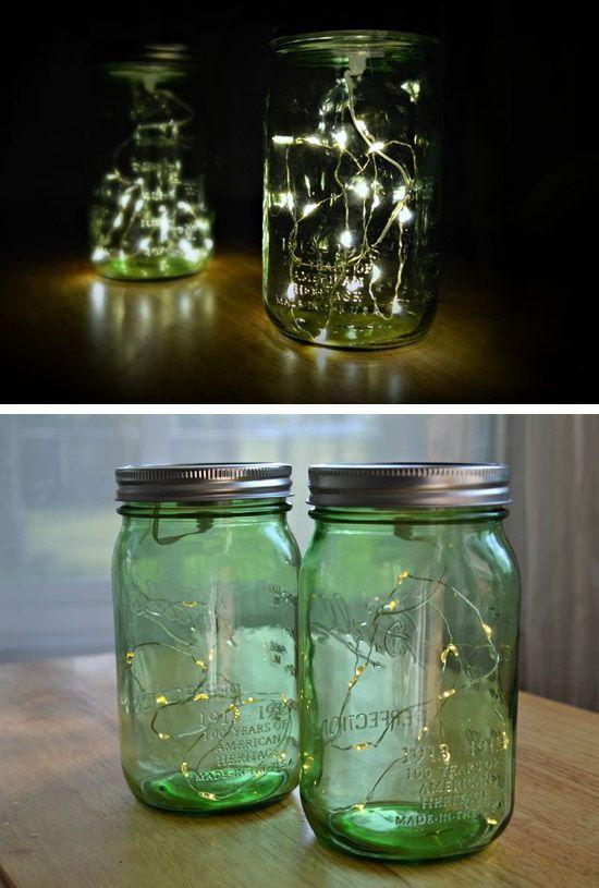 20 Genius DIY Outdoor Lighting Ideas for Summer | Garden lighting ...