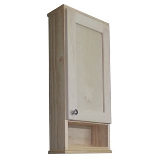 Shaker Series 24 Inch Unfinished 5 5 Inch Deep Inside Open Shelf On The Wall Cabinet Open Shelving Surface Mount Medicine Cabinet Cabinet Shelving