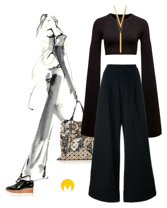 """""""Untitled #1523"""" by imageconsultingzurich ❤ liked on Polyvore featuring STELLA McCARTNEY, Bao Bao by Issey Miyake, Puma and BERRICLE"""