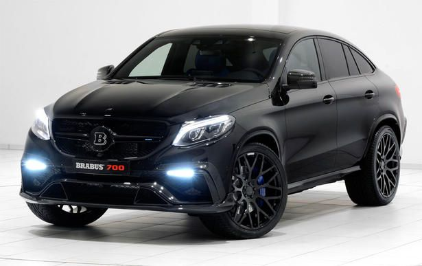 Brabus Mercedes Gle63 Amg Powerkit And Body Kit Mercedes Benz