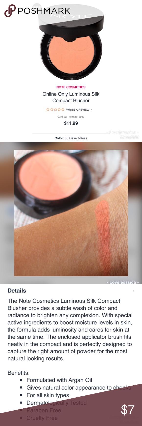 Note Blush+ brush Blush brush, Online cosmetics, Ulta